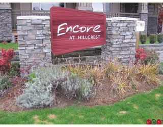 "Photo 1: 106 18701 66TH Avenue in Surrey: Cloverdale BC Townhouse for sale in ""ENCORE AT HILLCREST"" (Cloverdale)  : MLS®# F2728531"