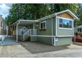 "Photo 1: 14 24330 FRASER Highway in Langley: Otter District Manufactured Home for sale in ""LANGLEY GROVE ESTATES"" : MLS®# R2263420"