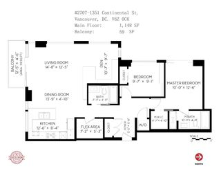 """Photo 22: 2707 1351 CONTINENTAL Street in Vancouver: Downtown VW Condo for sale in """"Maddox"""" (Vancouver West)  : MLS®# R2569520"""