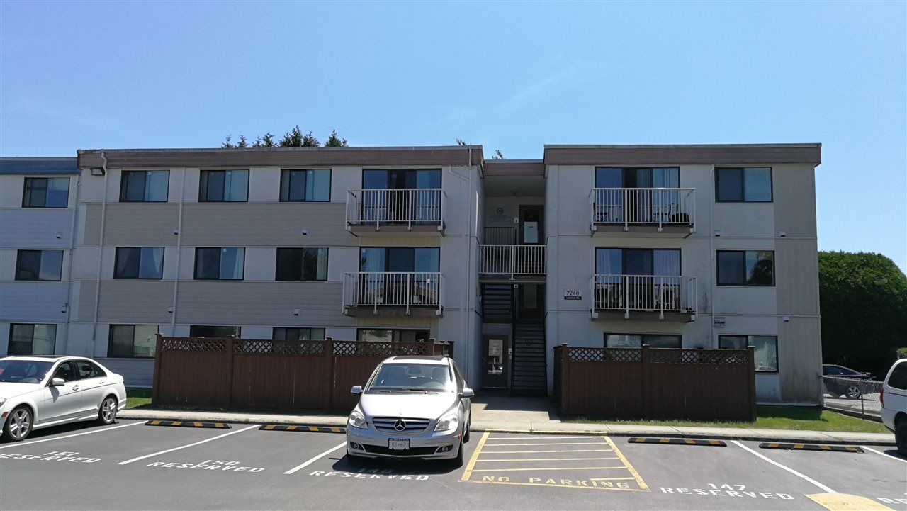 "Main Photo: 213 7240 LINDSAY Road in Richmond: Granville Condo for sale in ""SUSSEX SQUARE"" : MLS®# R2363069"