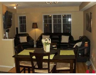 """Photo 3: 80 20176 68TH Avenue in Langley: Willoughby Heights Townhouse for sale in """"Steeplechase"""" : MLS®# F2806030"""