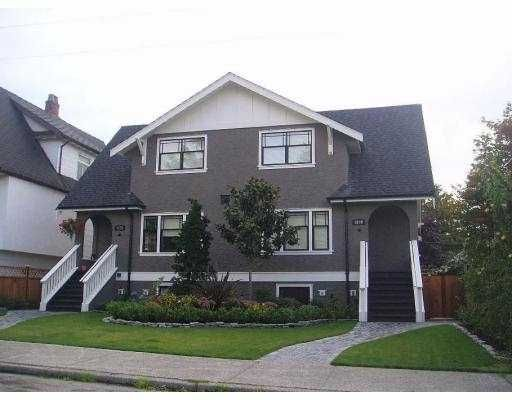 Main Photo: 2686 W 5TH Avenue in Vancouver: Kitsilano 1/2 Duplex for sale (Vancouver West)  : MLS®# V685671