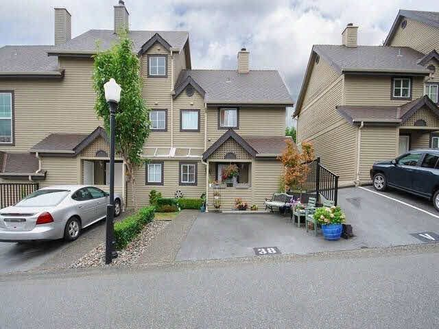 """Main Photo: 38 2736 ATLIN Place in Coquitlam: Coquitlam East Townhouse for sale in """"CEDAR GREEN ESTATES"""" : MLS®# V1137675"""