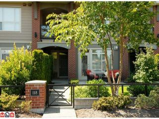 Photo 1: 118 1787 154TH Street in Surrey: King George Corridor Condo for sale (South Surrey White Rock)  : MLS®# F1020147