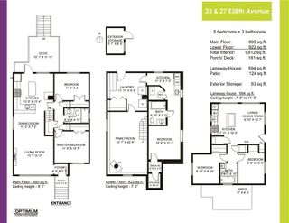 Photo 39: 23 E 38TH Avenue in Vancouver: Main House for sale (Vancouver East)  : MLS®# R2539453