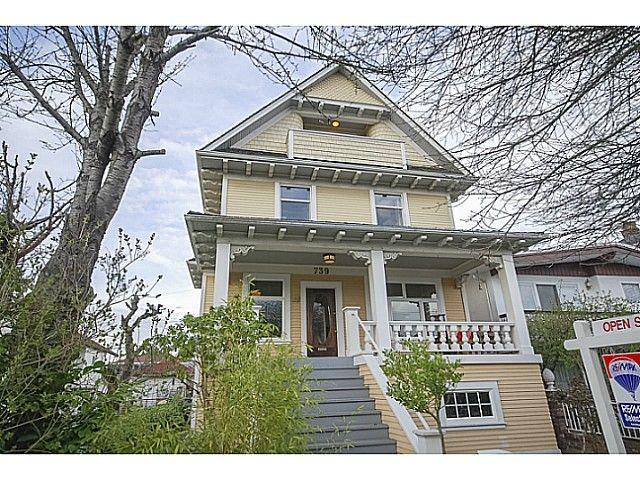 Main Photo: 739 E 24TH AV in Vancouver: Fraser VE House for sale (Vancouver East)  : MLS®# V1110786