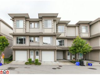 """Photo 2: 22 18701 66TH Avenue in Surrey: Cloverdale BC Townhouse for sale in """"ENCORE"""" (Cloverdale)  : MLS®# F1215196"""