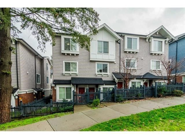 """Main Photo: 161 14833 61 Avenue in Surrey: Sullivan Station Townhouse for sale in """"Ashbury Hills"""" : MLS®# R2592954"""