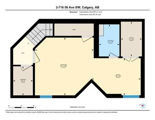 Photo 22: 2 716 56 Avenue SW in Calgary: Windsor Park Row/Townhouse for sale : MLS®# A1151316