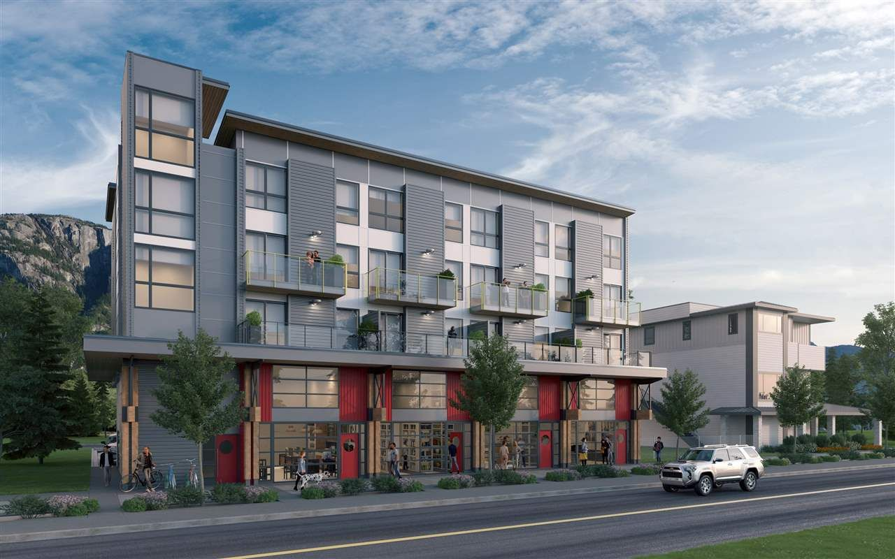 """Main Photo: 309 37762 THIRD Avenue in Squamish: Downtown SQ Condo for sale in """"THE LOFTS"""" : MLS®# R2608944"""