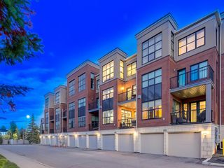 Photo 3: 408 Aspen Meadows Hill SW in Calgary: Aspen Woods Row/Townhouse for sale : MLS®# A1143107