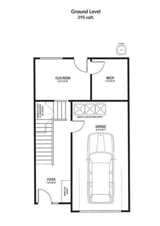 Photo 5: 2 150 Discovery Drive SW in Calgary: Discovery Ridge Row/Townhouse for sale : MLS®# A1114215