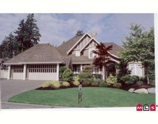 Photo 1: 2309 133RD ST in White Rock: House for sale (Elgin/Chantrell)  : MLS®# F2613674
