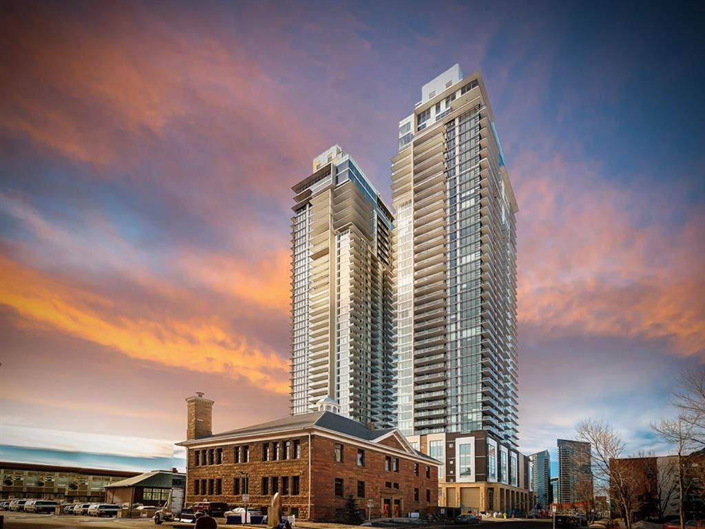 Main Photo: 2701 1122 3 Street SE in Calgary: Beltline Apartment for sale : MLS®# A1129611