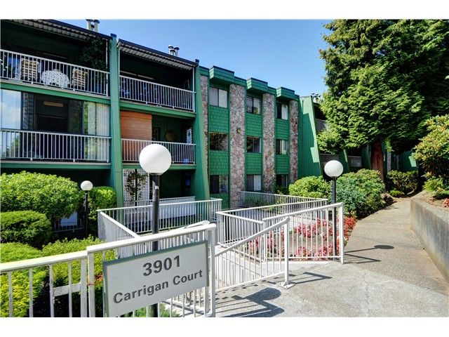 """Main Photo: 302 3901 CARRIGAN Court in Burnaby: Government Road Condo for sale in """"LOUGHEED ESTATES II"""" (Burnaby North)  : MLS®# V1023256"""