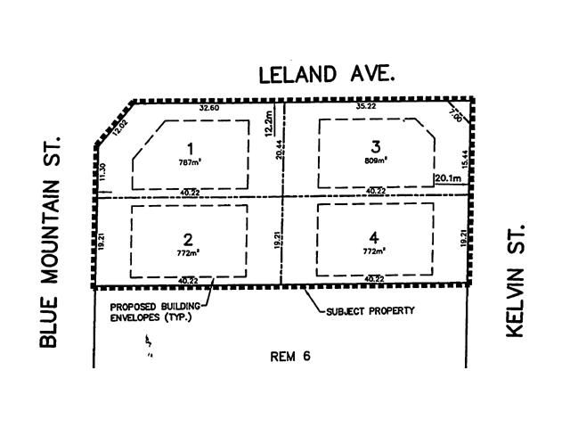 Main Photo: LOT 3 975 BLUE MOUNTAIN Street in Coquitlam: Coquitlam East Land for sale : MLS®# V872250