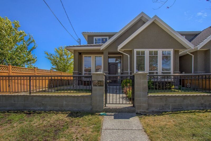 Main Photo: 6626 BRANTFORD Avenue in Burnaby: Upper Deer Lake 1/2 Duplex for sale (Burnaby South)  : MLS®# R2191081
