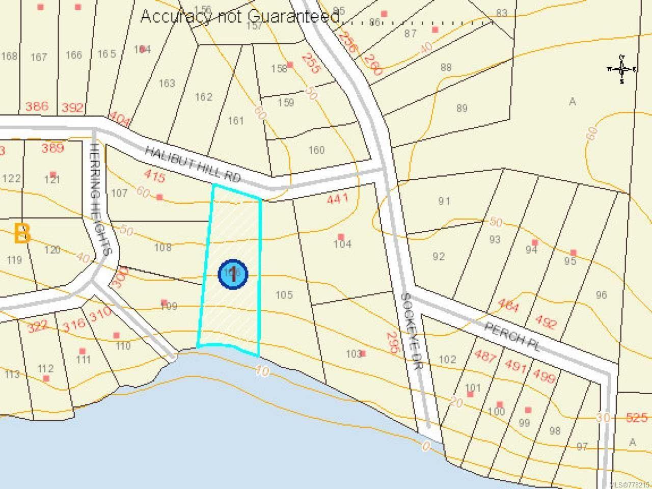 Photo 12: Photos: LT 106 Halibut Hill Rd in MUDGE ISLAND: Isl Mudge Island Land for sale (Islands)  : MLS®# 778215