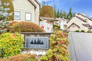 """Photo 4: 39 2736 ATLIN Place in Coquitlam: Coquitlam East Townhouse for sale in """"CEDAR GREEN"""" : MLS®# R2533312"""