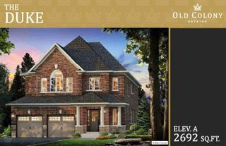 Photo 1: Lot 107 Old Colony Drive in Whitby: Pringle Creek House (2-Storey) for sale : MLS®# E5380766