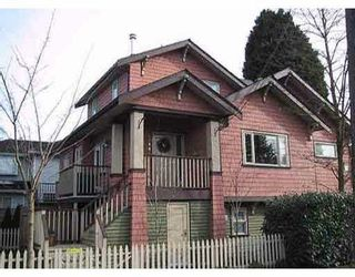 Photo 1: 2388 TRUTCH Street in Vancouver: Kitsilano 1/2 Duplex for sale (Vancouver West)  : MLS®# V1124635