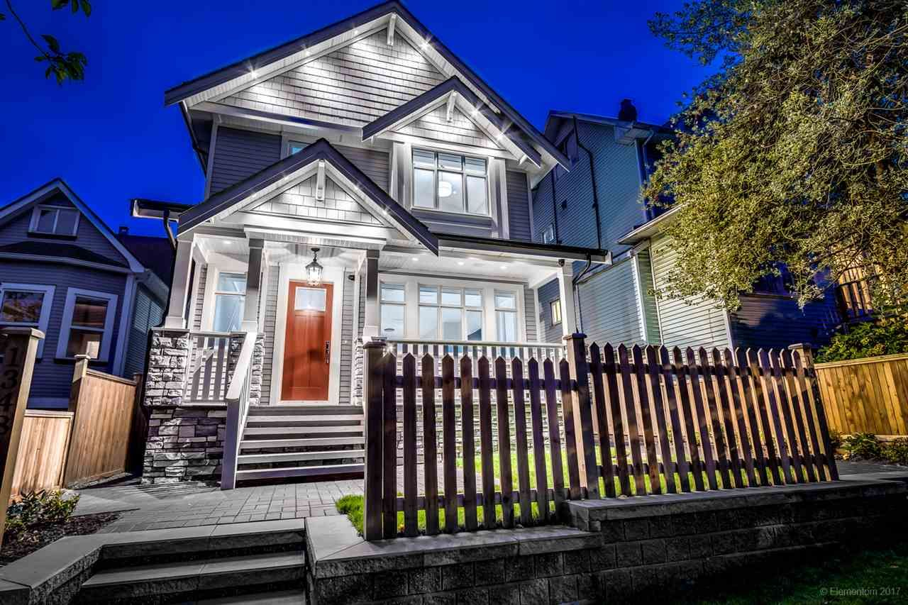 Main Photo: 1348 E 18TH Avenue in Vancouver: Knight 1/2 Duplex for sale (Vancouver East)  : MLS®# R2214853