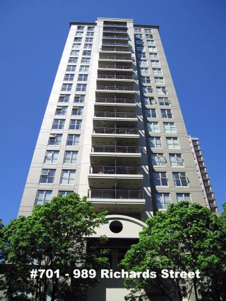 """Photo 1: 701 989 RICHARDS Street in Vancouver: Downtown VW Condo for sale in """"MONDRIAN"""" (Vancouver West)  : MLS®# R2061790"""
