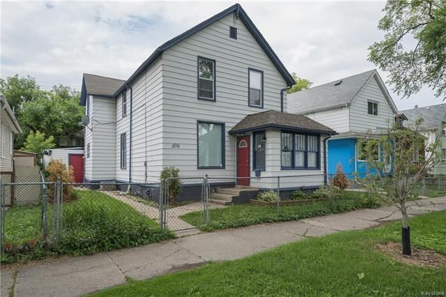 Main Photo: 306 Aberdeen Avenue in Winnipeg: North End Residential for sale (4A)  : MLS®# 1817446