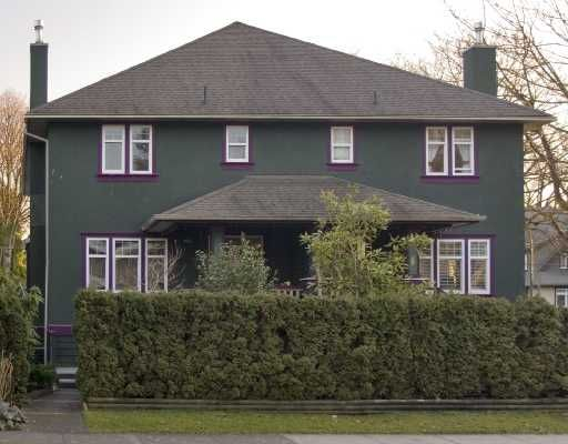 Main Photo: 1994 W 12TH Avenue in Vancouver: Kitsilano 1/2 Duplex for sale (Vancouver West)  : MLS®# V693088