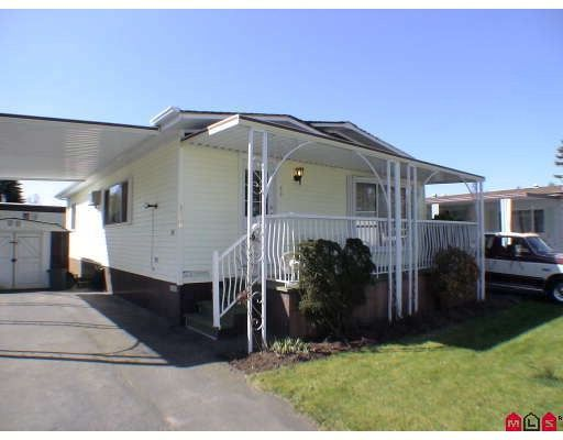 "Main Photo: 128 3665 244 Street in Langley: Otter District Manufactured Home for sale in ""LANGLEY GROVE ESTATES"" : MLS®# F2909131"