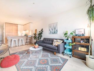 "Photo 1: 311 3456 COMMERCIAL Street in Vancouver: Victoria VE Condo for sale in ""Mercer"" (Vancouver East)  : MLS®# R2558325"