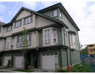 """Photo 10: 18 160 PEMBINA Street in New_Westminster: Queensborough Townhouse for sale in """"EAGLE CREST ESTATES"""" (New Westminster)  : MLS®# V663163"""