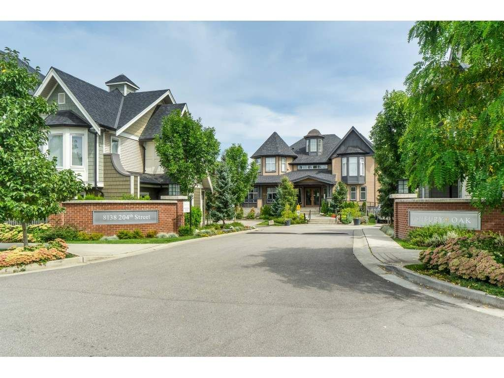 "Main Photo: 64 8138 204 Street in Langley: Willoughby Heights Townhouse for sale in ""Ashbury & Oak"" : MLS®# R2488397"