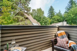 """Photo 18: 8574 WILDERNESS Court in Burnaby: Forest Hills BN Townhouse for sale in """"Simon Fraser Village"""" (Burnaby North)  : MLS®# R2614929"""