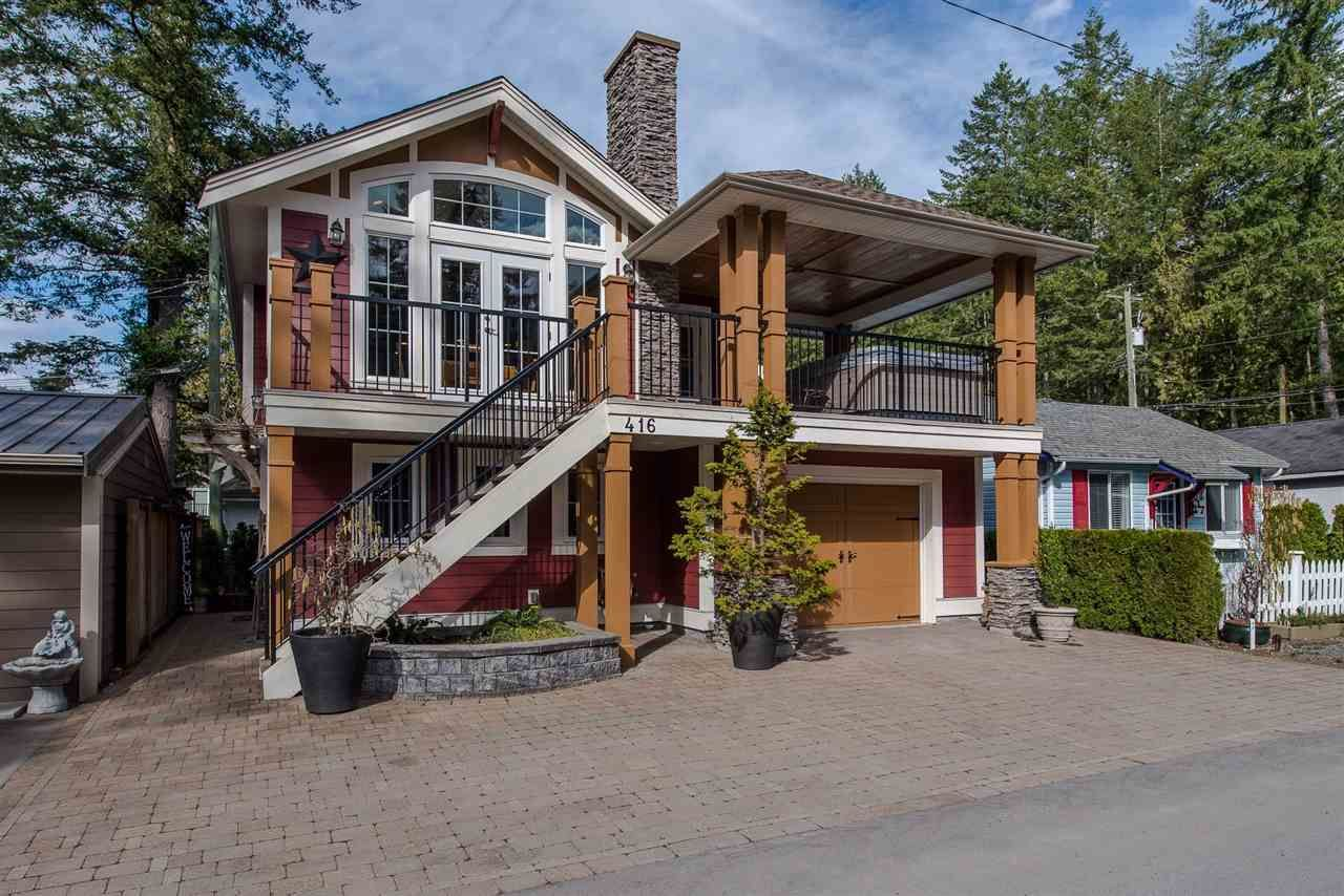 "Main Photo: 416 MAPLE Street: Cultus Lake House for sale in ""Cultus lake Park"" : MLS®# R2493541"