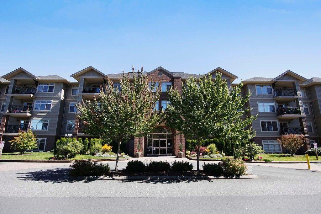 Main Photo: # 314 45769 STEVENSON RD in Sardis: Sardis East Vedder Rd Condo for sale : MLS®# H1401314