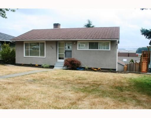 Main Photo: 112 SAPPER ST in New Westminster: House for sale : MLS®# V781379