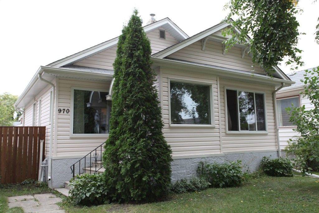Photo 1: Photos: 970 Dominion Street in WINNIPEG: West End / Wolseley Single Family Detached for sale (West Winnipeg)  : MLS®# 1320863