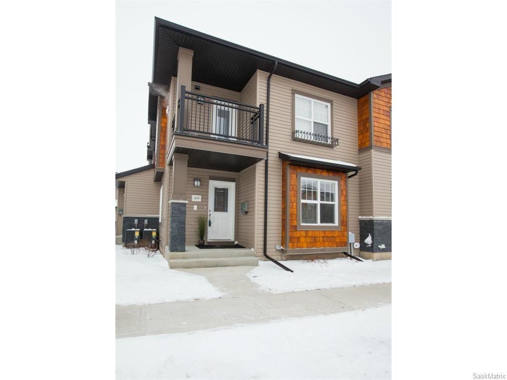 Main Photo: 409 1015 Patrick Crescent in Saskatoon: Willowgrove Complex for sale (Saskatoon Area 01)  : MLS®# 600913