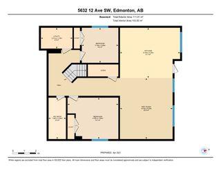 Photo 44: 5632 12 Avenue SW in Edmonton: Zone 53 House for sale : MLS®# E4236721