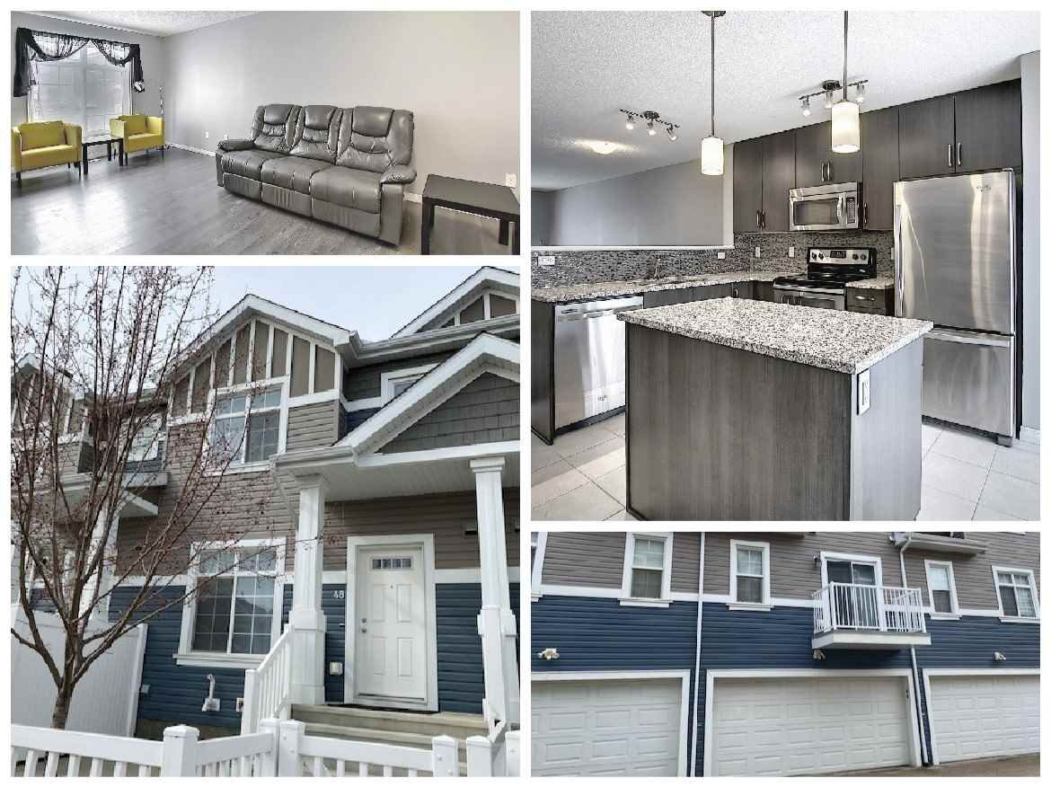 Main Photo: 48 9151 SHAW Way in Edmonton: Zone 53 Townhouse for sale : MLS®# E4230858