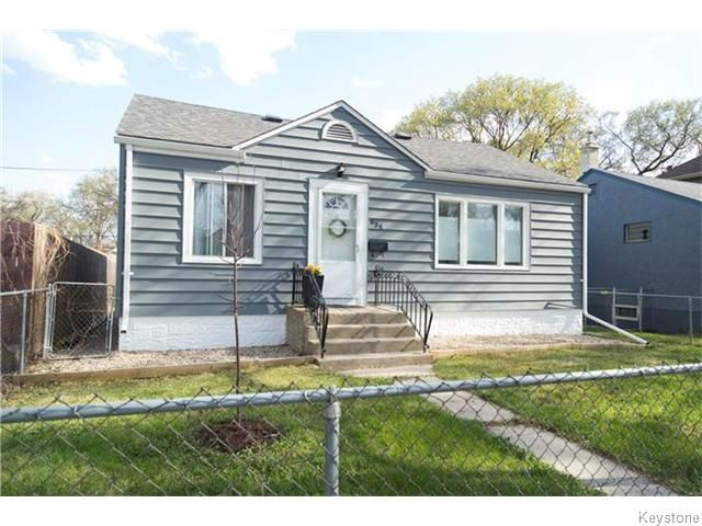Main Photo: 634 Rosedale Avenue in Winnipeg: Manitoba Other Residential for sale : MLS®# 1611380