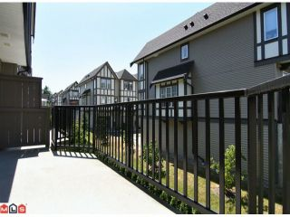 "Photo 9: 59 8089 209TH Street in Langley: Willoughby Heights Townhouse for sale in ""Arborel Park"" : MLS®# F1020362"