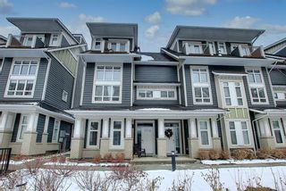 Photo 1: 191 Silverado Plains Park SW in Calgary: Silverado Row/Townhouse for sale : MLS®# A1086865