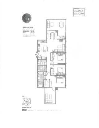 """Photo 2: 2902 4360 BERESFORD Street in Burnaby: Metrotown Condo for sale in """"MODELLO"""" (Burnaby South)  : MLS®# R2617620"""