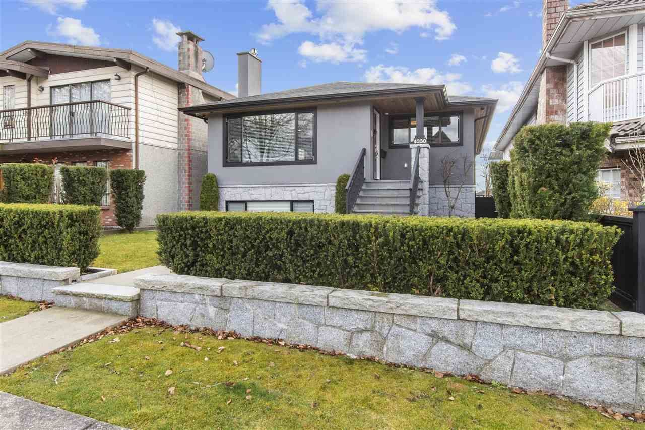 Main Photo: 4330 UNION Street in Burnaby: Willingdon Heights House for sale (Burnaby North)  : MLS®# R2557923