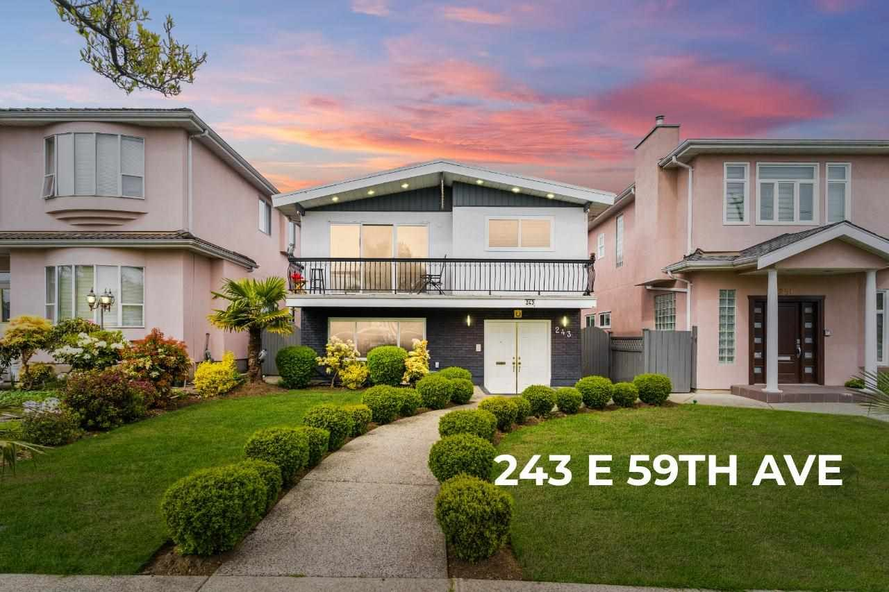 Main Photo: 243 E 59TH Avenue in Vancouver: South Vancouver House for sale (Vancouver East)  : MLS®# R2572451