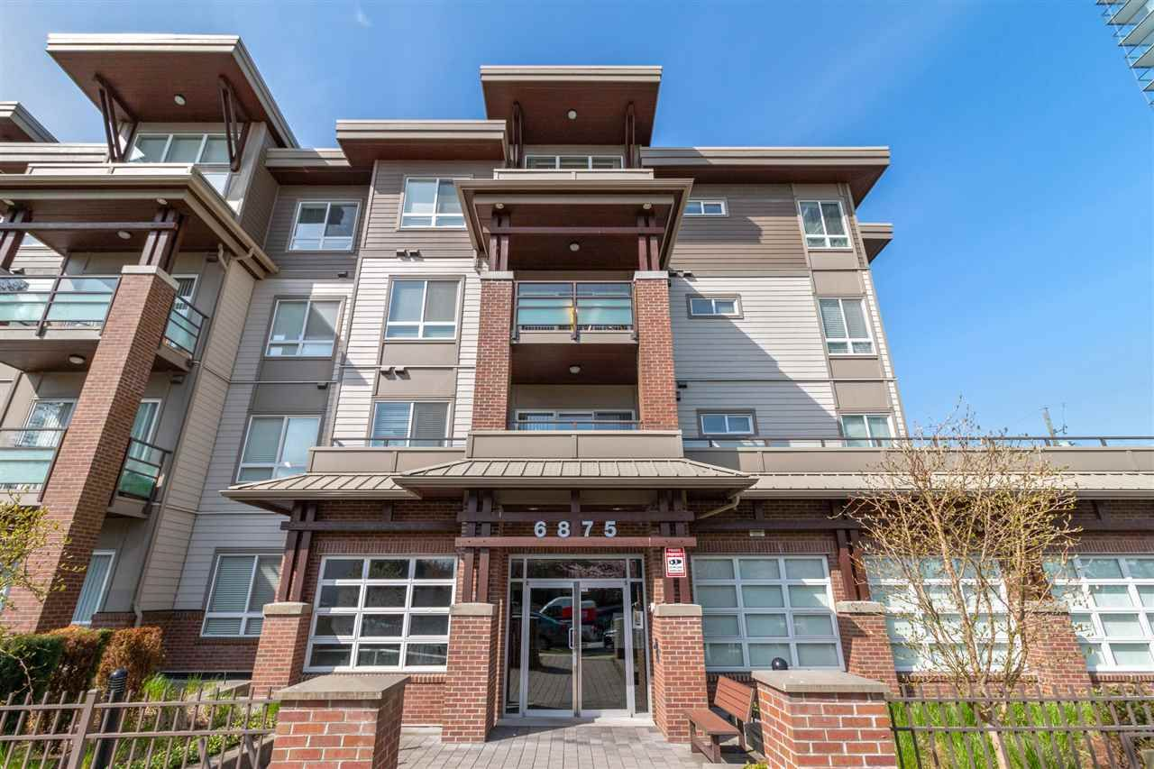 """Main Photo: 310 6875 DUNBLANE Avenue in Burnaby: Metrotown Condo for sale in """"SUBORA"""" (Burnaby South)  : MLS®# R2564020"""