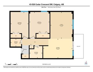 Photo 5: 43 528 Cedar Crescent SW in Calgary: Spruce Cliff Apartment for sale : MLS®# A1098683