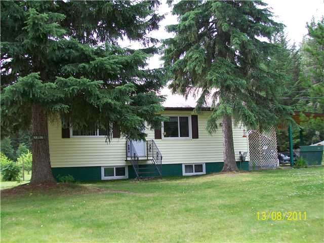 Main Photo: 2397 BOUCHIE LAKE Road in Quesnel: Bouchie Lake House for sale (Quesnel (Zone 28))  : MLS®# N215778